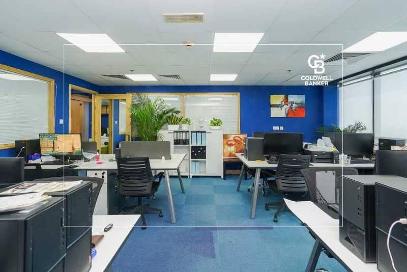 2 Furnished Office | High Floor | JBC 4 - JLT