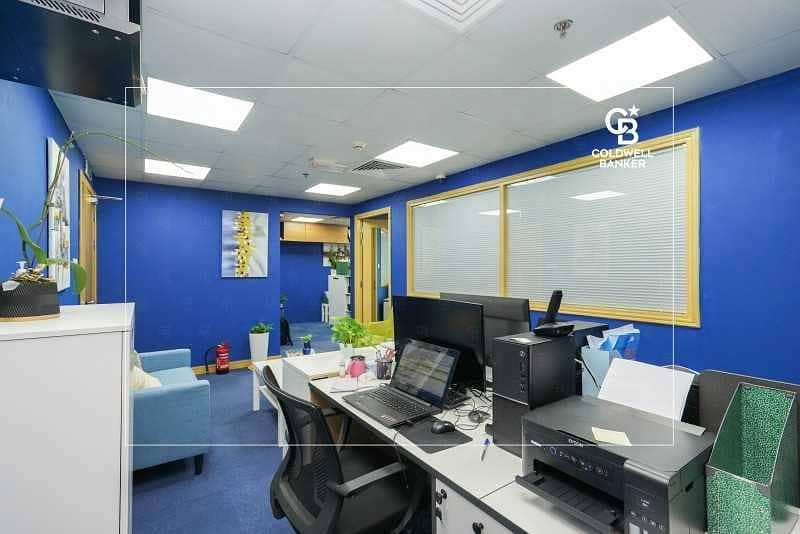 14 Furnished Office | High Floor | JBC 4 - JLT