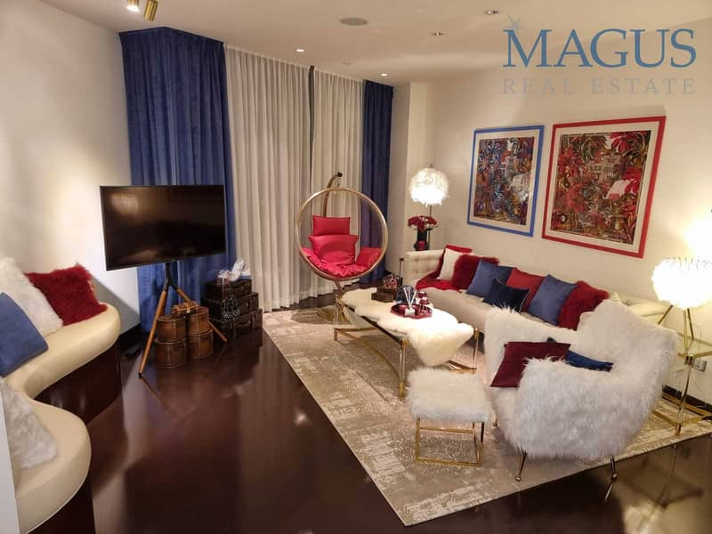 Master Piece| Fully Furnished | 2Br For Sale