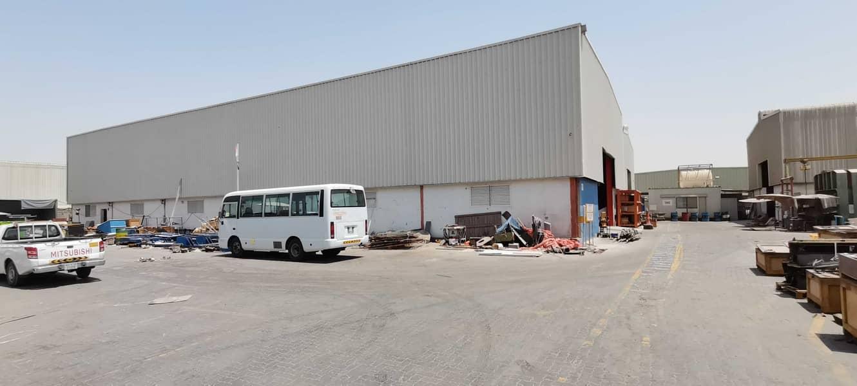 A vast warehouse with office setup for sale at al qusais-dubai. AED-15M