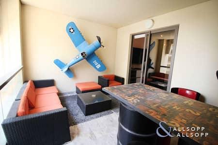 فلیٹ 2 غرفة نوم للبيع في جميرا بيتش ريزيدنس، دبي - Upgraded | Small Terrace | Vacant | 2 Bed