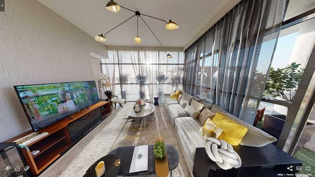 25 Luxury All Seasons Terrace Living Apt | Golf Views | Damac Hills !!!