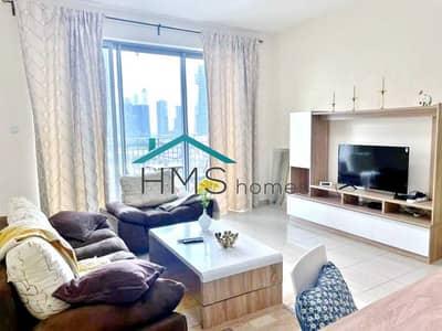 فلیٹ 1 غرفة نوم للايجار في وسط مدينة دبي، دبي - Fully Furnished | Partial Fountain & Sea View