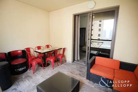 شقة 2 غرفة نوم للبيع في جميرا بيتش ريزيدنس، دبي - Upgraded | Small Terrace | Vacant l 2 Bed