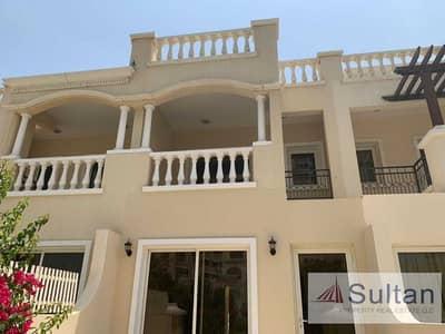 2 Bedroom Villa for Sale in Al Hamra Village, Ras Al Khaimah - Upgraded 2BR TC + Extra Living Room | Pool View