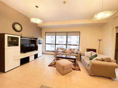 شقة 2 غرفة نوم للايجار في جميرا بيتش ريزيدنس، دبي - Partial sea view / Fully furnished / Vacant Mid Nov