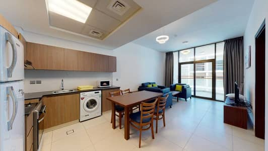 فلیٹ 1 غرفة نوم للايجار في واحة دبي للسيليكون، دبي - Furnished   Community view   Free maintenance