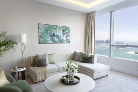 فلیٹ 1 غرفة نوم للبيع في نخلة جميرا، دبي - Luxury 1BR | 5Yr Service Charge Free | DLD Waiver