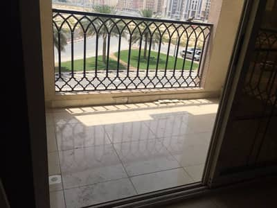 1BHK large size with balcony in CBD Royal Residences international city building call Arslan