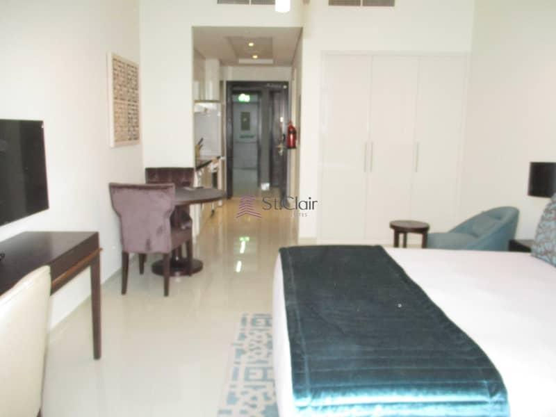 2 Fully Furnished Studio in Ghalia   Higher Floor