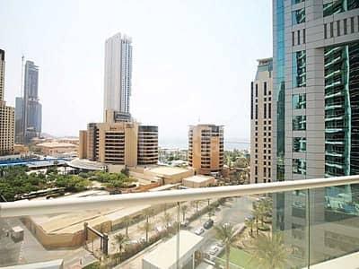 فلیٹ 1 غرفة نوم للبيع في دبي مارينا، دبي - Pool and Sea View|Large balcony|Vacant