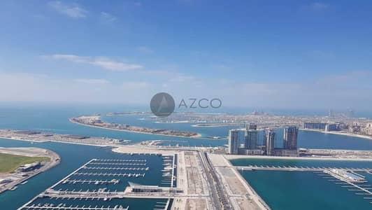 3 Bedroom Flat for Rent in Dubai Marina, Dubai - High Floor| Full Sea View| Next to Marina Walk