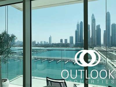 فلیٹ 3 غرف نوم للبيع في دبي هاربور، دبي - 3 BR For Sale | Emaar Beachfront | Luxury Launch