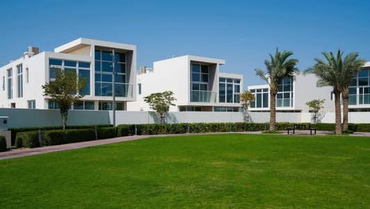 3 Bedroom Townhouse for Sale in DAMAC Hills 2 (Akoya Oxygen), Dubai - Brand New Corner Townhouse with Golf Course View