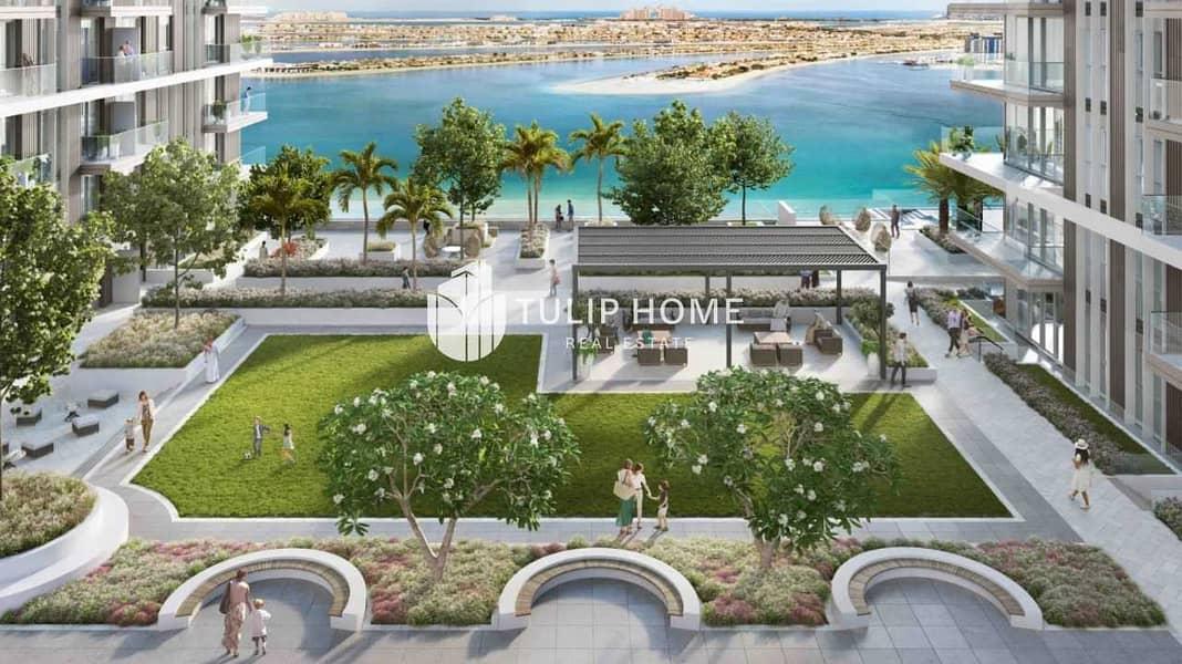 26 Palm   Sea   Bleu Waters & Marina View. .