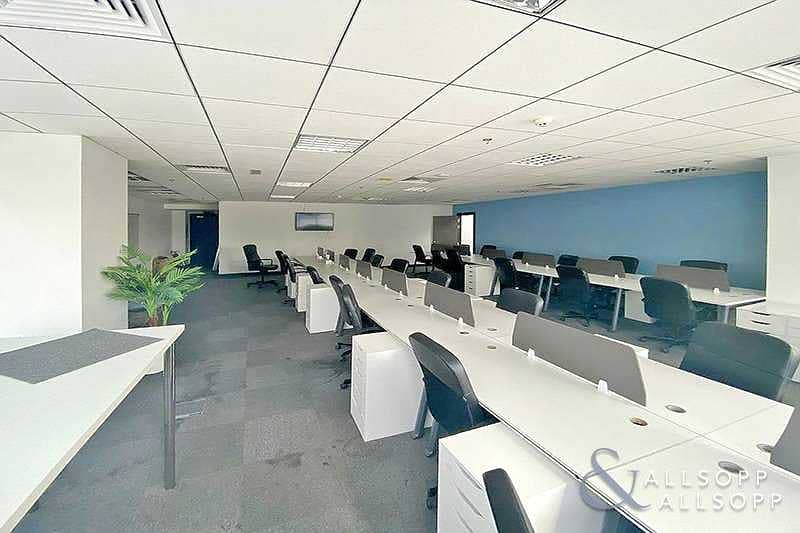 Fully Fitted | Partitioned | 2 Conference Room