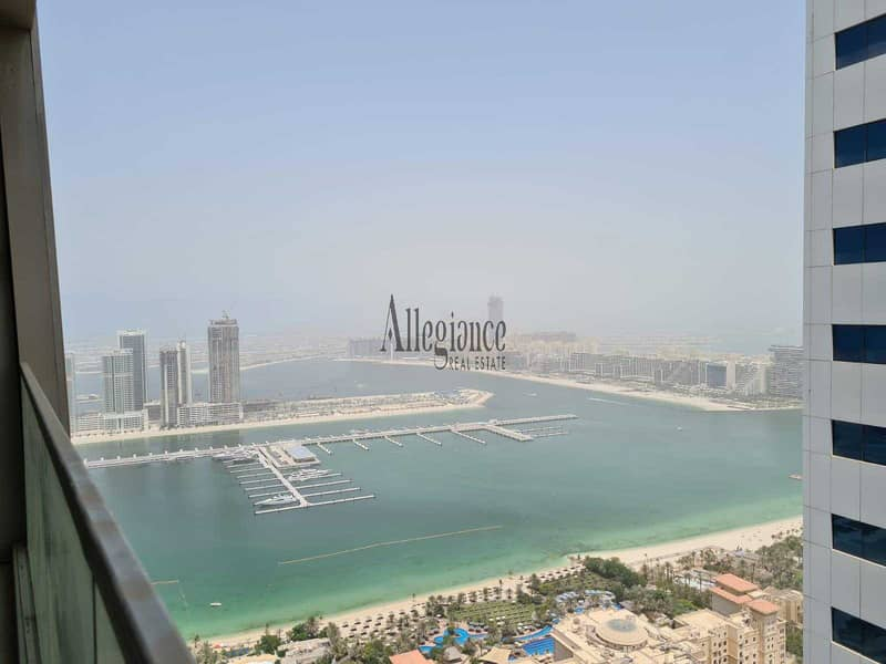 Full Sea View |Higher Floor | 2Br Unfurnished