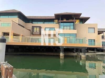 6 Bedroom Villa for Sale in Al Gurm, Abu Dhabi - VIP & Laxurious Sea Front Villa   Fully Upgraded .