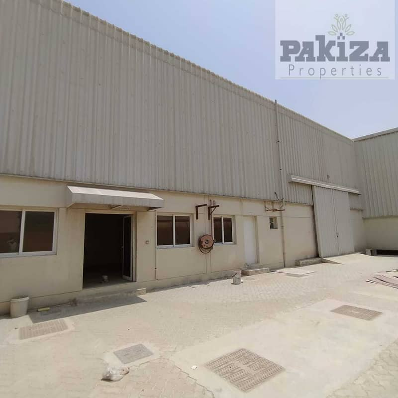 26000SQFT !! Road Facing Independent New Warehouse With High Power!!