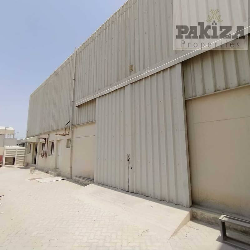 2 26000SQFT !! Road Facing Independent New Warehouse With High Power!!