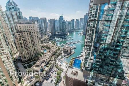 2 Bedroom Flat for Sale in Dubai Marina, Dubai - Duplex + Store/High Floor w/ Full Marina View