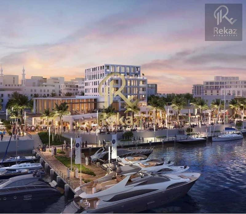 شقة رائعة من غرفة نوم واحدة مطلة على البحر - جزيرة مريم - الواجهة البحرية الجديدة في الشارقة