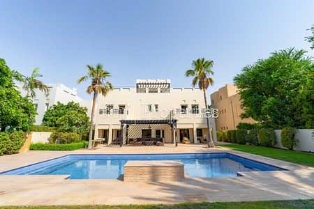 6 Bedroom Villa for Sale in The Lakes, Dubai - Exclusive | Fully upgraded 6BED | Golf course view