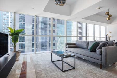 فلیٹ 1 غرفة نوم للايجار في شارع الشيخ زايد، دبي - Sama Apartment XI