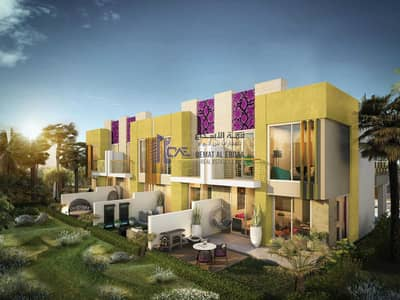 3 Bedroom Villa for Sale in DAMAC Hills 2 (Akoya Oxygen), Dubai - Corner 3br Just Cavalli Villa - 3 year Payment Plan