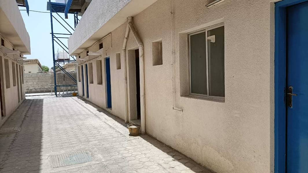 36 Labor rooms AED 1100/ month including FEWA in jurf