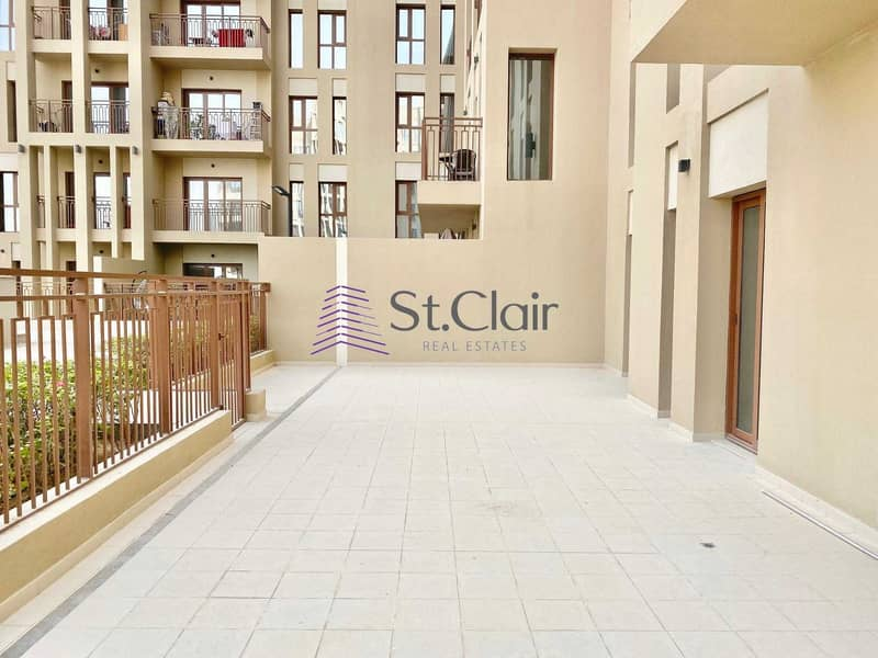 2 2BR with Large Terrace   Direct Pool Access