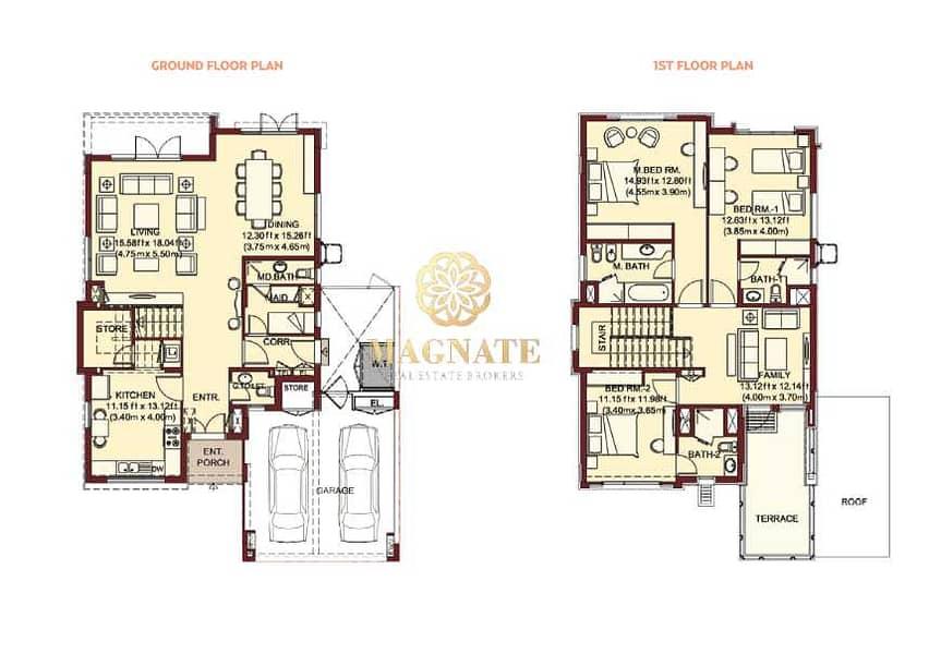 16 Corner Villa   Vacant by Sept   Independent 3 BR