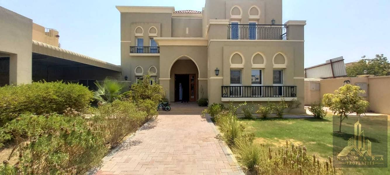 Brand-new 4 bed rooms Corner Villa | Beautiful Garden | Only 170k Yearly