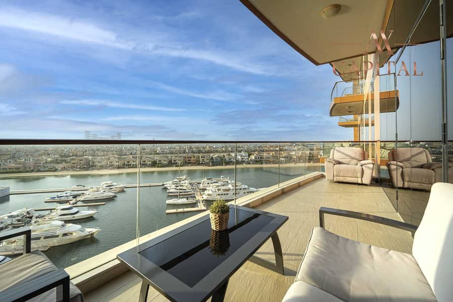 12 Full Sea View | Spacious | 2 Parking | Exclusive