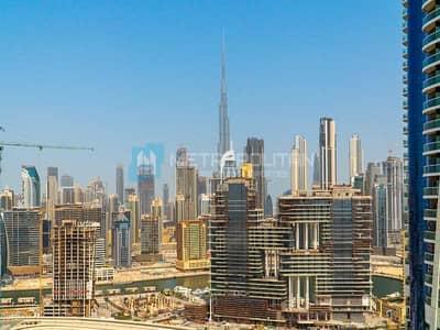 استوديو  للبيع في الخليج التجاري، دبي - Burj Khalifa View | Spacious Layout  | High Floor