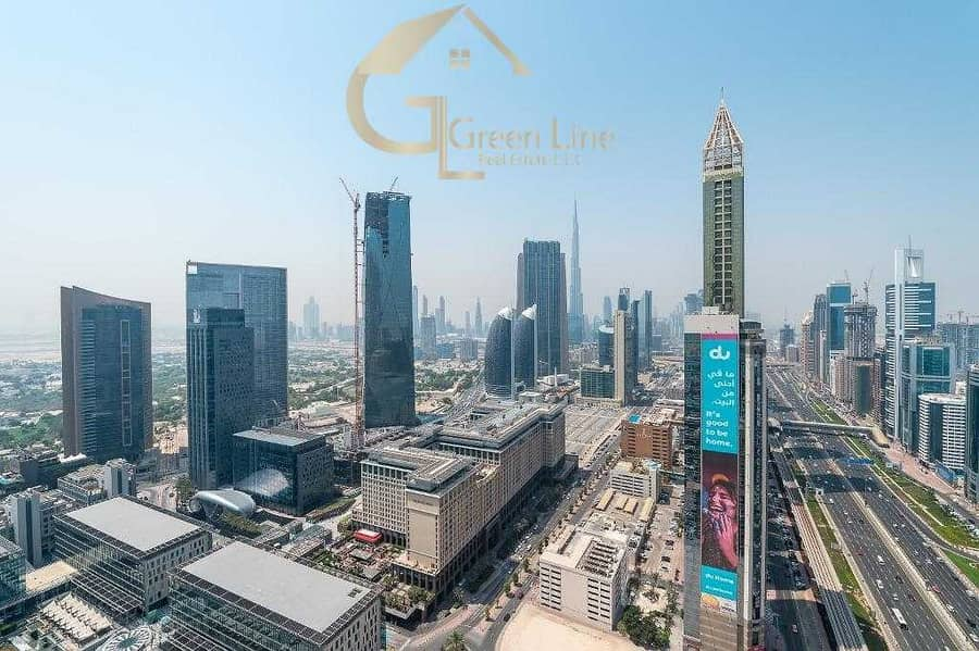 Full Burj Khalifa and Sea View I Island Kitchen I 13 months I Maze DIFC