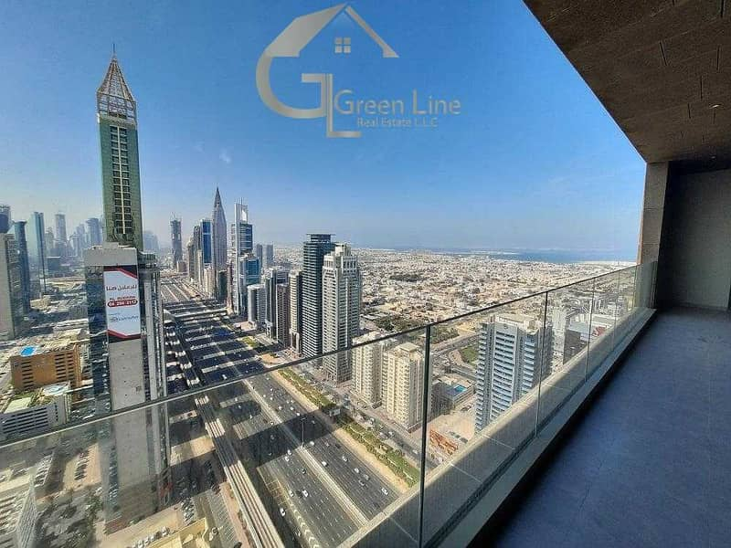2 Full Burj Khalifa and Sea View I Island Kitchen I 13 months I Maze DIFC