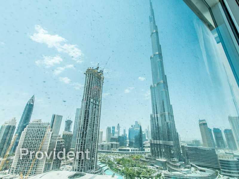 Burj Khalifa & Fountain View | Furnished