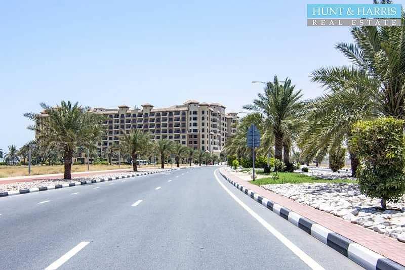 12 Furnished Studio - Al Marjan - Sea Views
