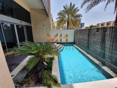 تاون هاوس 4 غرف نوم للايجار في شاطئ الراحة، أبوظبي - Ready to Move In| Canal View| Spacious 4B with Private Pool