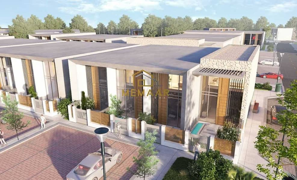 Owns 1 BR Townhouse in Arabian Ranches  Near Global Village