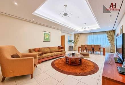 2 Bedroom Hotel Apartment for Rent in Dubai Marina, Dubai - Spacious 2 BR   All Bills   No traffic   Maid Room