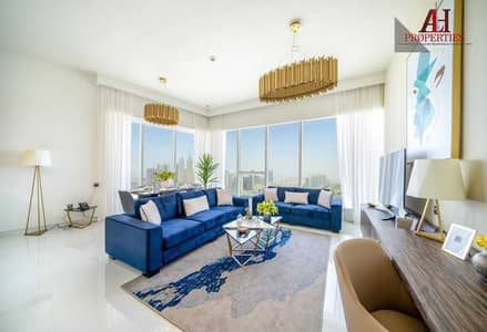 2 Bedroom Hotel Apartment for Rent in Dubai Media City, Dubai - Bills included | Maids | Brand New Furnished | Golf