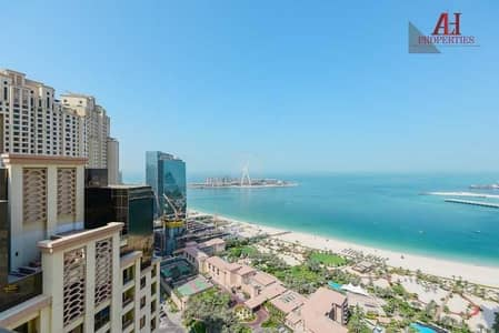 2 Bedroom Hotel Apartment for Rent in Jumeirah Beach Residence (JBR), Dubai - 2BR   Furnished   Bills Included   Housekeeping/ Marina View