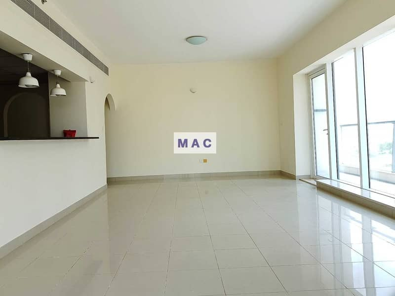 2 530 SqFt large 2 BR | Investment unit | Tennis Tower - Sports City
