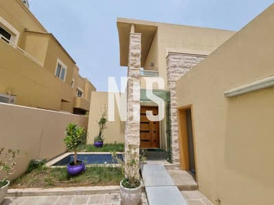 5 Bedroom Villa for Rent in Al Raha Gardens, Abu Dhabi - Well Maintained | Swimming Pool + Garden + Maid+driver room .