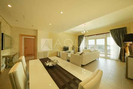 1 Bedroom Apartment for Rent in Palm Jumeirah, Dubai - Full Sea View | Unfurnished | Beach Access