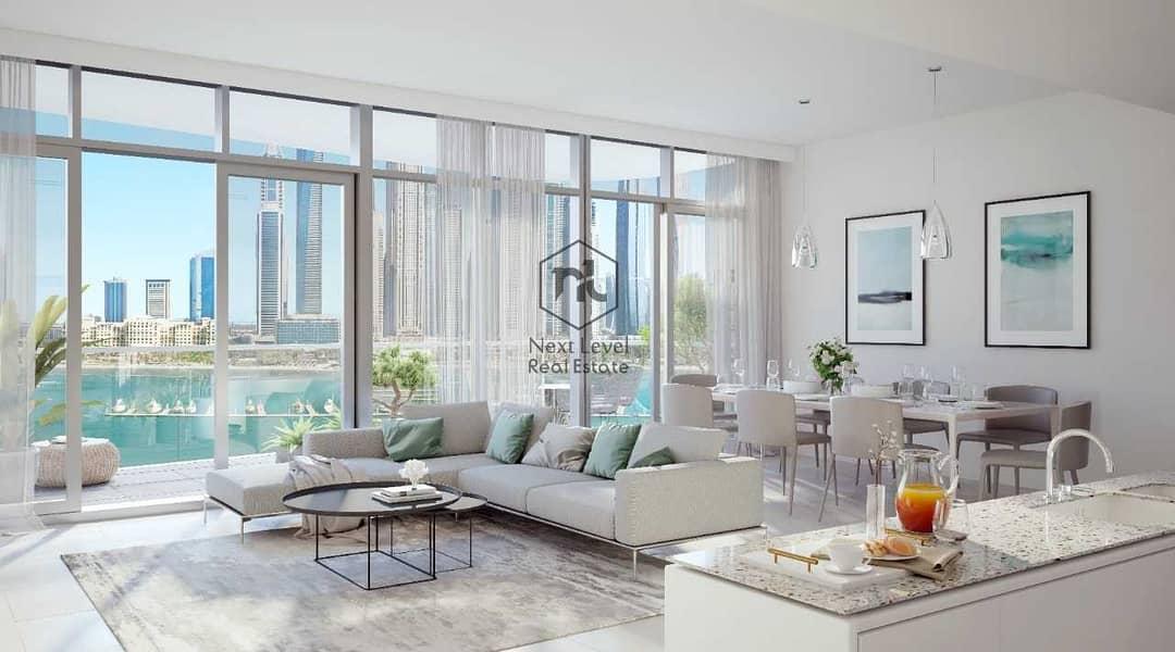 شقة في مارينا فيستا تاور 1 مارينا فيستا إعمار الواجهة المائية دبي هاربور 3 غرف 5000000 درهم - 5345905