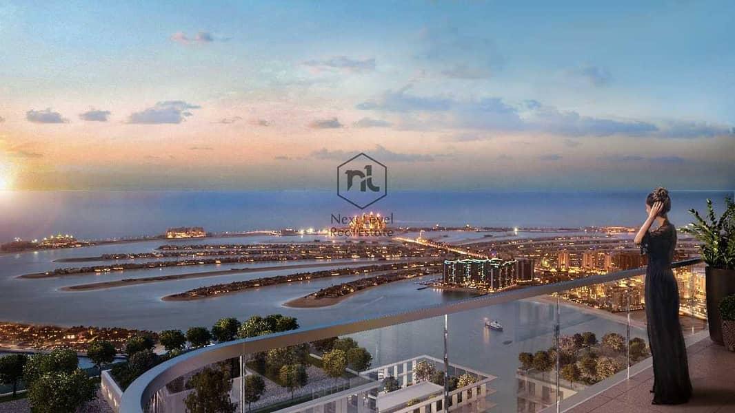 شقة في مارينا فيستا تاور 1 مارينا فيستا إعمار الواجهة المائية دبي هاربور 1 غرف 1670000 درهم - 5345873