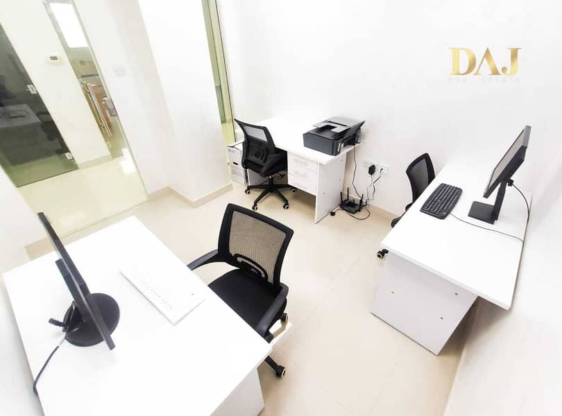 10 Fully Serviced Office near to Metro   0% Commission